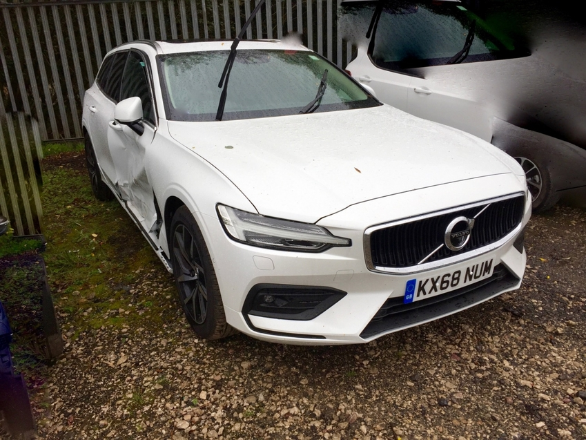 View VOLVO V60 MOMENTUM PRO D4 AUTO DAMAGED SALVAGE CAT S ARRIVING SOON