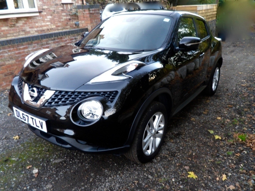 View NISSAN JUKE N-CONNECTA AUTOMATIC 1.6 CATEGORY S RECORDED LIGHT REAR DAMAGE NOW FULLY REPAIRED