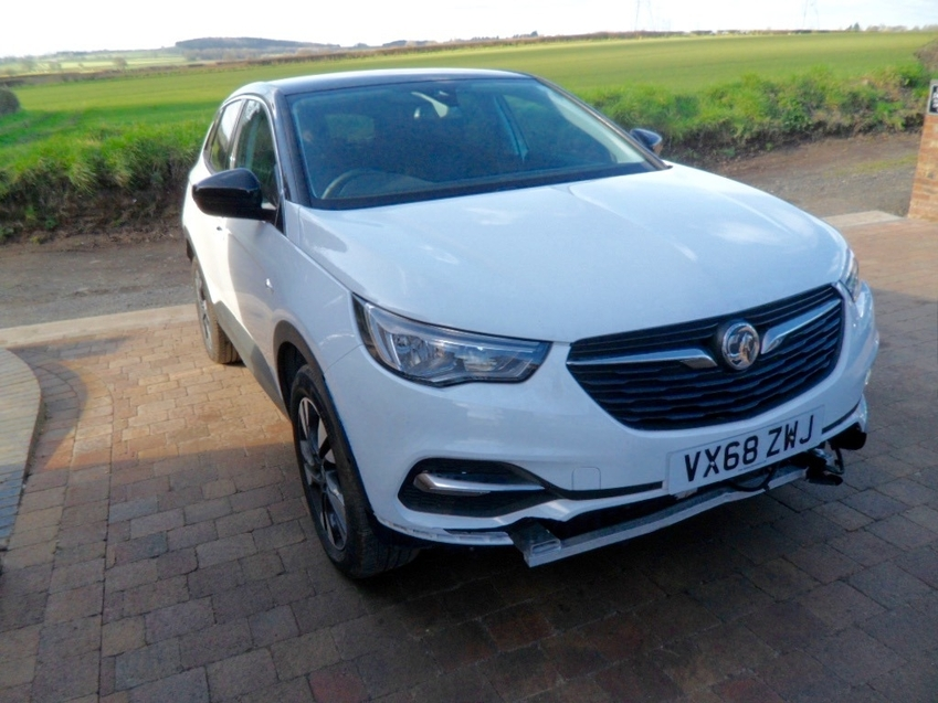 View VAUXHALL GRANDLAND X SPORT NAV 1.2T 130 BHP RECORDED CATEGORY N **NOW FULL REPAIRED**