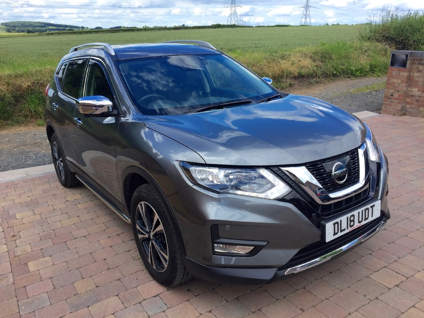 View NISSAN X-TRAIL 2.0dCi ( 177ps ) 4WD Xtronic N-Connecta Pan Roof 5 Seats