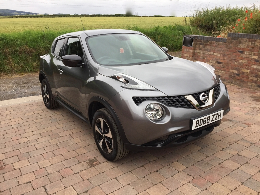 View NISSAN JUKE BOSE PERSONAL EDITION 1.6 REAR DAMAGED NOW FULLY REPAIRED