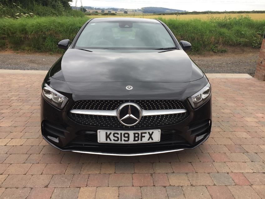 View MERCEDES A CLASS 180d 1.5 Executive AMG Line DCT 7 Speed Automatic  HPi Clear