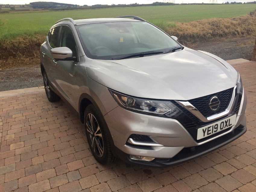 View NISSAN QASHQAI N-CONNECTA 1.5 DCi 110 BHP PAN-ROOF SIDE DAMAGED ***NOW FULLY REPAIRED***