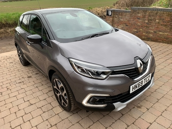 RENAULT CAPTUR GT-LINE MEDIA NAV R-LINK 0.9TCe 90BHP LEATHER TRIM REAR DAMAGE NOW FULLY REPAIRED RECORDED CAT S