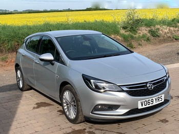 VAUXHALL ASTRA ELITE NAV 1.4T 150BHP 6 SPEED LEATHER TRIM RECORDED CATEGORY S **DAMAGED NOW FULLY REPAIRED**