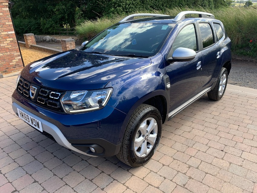 View DACIA DUSTER COMFORT NAV 1.0TCe 100BHP LIGHT REAR DAMAGE NOW FULLY REPAIRED RECORDED CAT S ***DEPOSIT TAKEN***