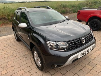 DACIA DUSTER COMFORT NAV 1.0TCe 100BHP DAMAGED NOW FULLY REPAIRED RECORDED CATEGORY S **DEPOSIT TAKEN**