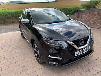 NISSAN QASHQAI TEKNA PLUS 1.3 DIG-T 140BHP 6 SPEED TOP SPEC CAT N CURRENTLY BEING REPAIRED **DEPOSIT TAKEN**