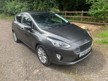 FORD FIESTA TITANIUM 1.0 125 BHP 6 SPEED HIGH SPEC RECORDED CATEGORY S NOW FULLY REPAIRED  **DEPOSIT TAKEN**