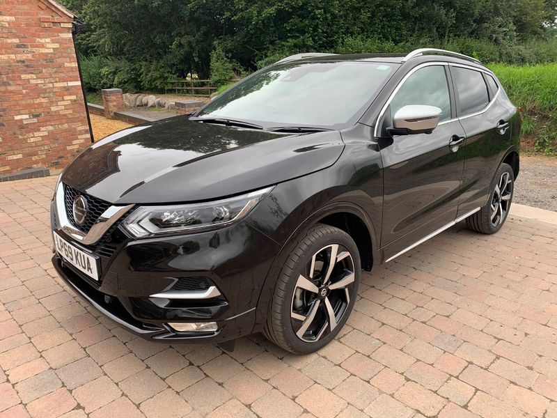 View NISSAN QASHQAI TEKNA PLUS 1.3 DIG-T 160BHP TOP SPEC DAMAGE NOW FULLY REPAIRED CAT S **DEPOSIT TAKEN**