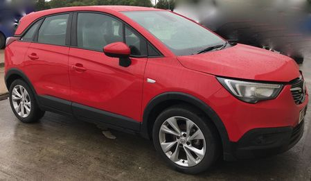 VAUXHALL CROSSLAND X SE 1.5 Turbo Diesel  100 BHP ECOTEC S-S RECORDED CATEGORY N **CURRENTLY BEING REPAIRED**