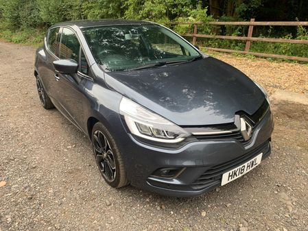 RENAULT CLIO SIGNATURE NAV 1.5DCi 90BHP LEATHER HIGH SPEC MINOR DAMAGE END OF LEASE **HPi CLEAR**