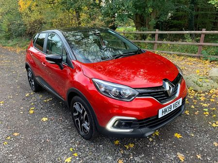 RENAULT CAPTUR ICONIC MEDIA NAV 1.5DCi 90BHP MIS- FUELLED NOW FULLY REPAIRED **HPi CLEAR**