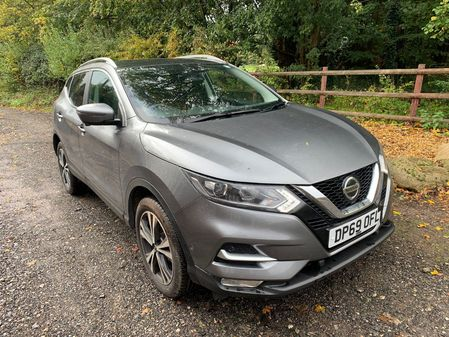 NISSAN QASHQAI N-CONNECTA AUTOMATIC 1.3 DIG-T 160BHP DAMAGED CAT S CURRENTLY BEING REPAIRED