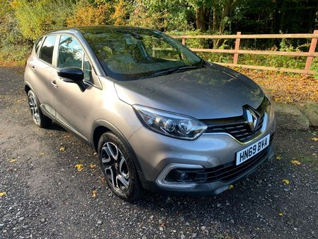 RENAULT CAPTUR ICONIC NAV 0.9TCe 90bhp SUSPENSION DAMAGE NOW FULLY REPAIRED