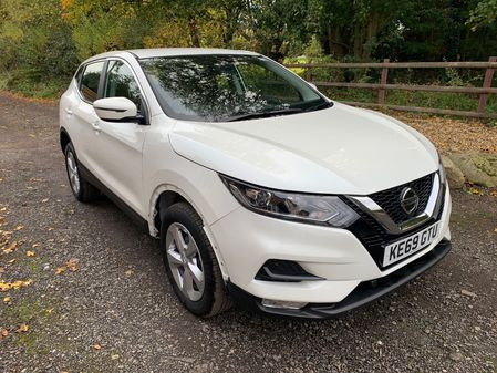 NISSAN QASHQAI ACCENTA PREMIUM NAV AUTOMATIC 1.3 DIG-T 160BHP BEING REPAIRED **HPi CLEAR**