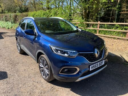 RENAULT KADJAR S-EDITION 1.3 TCe 160 BHP REAR DAMAGE CATEGORY S **CURRENTLY BEING REPAIRED**
